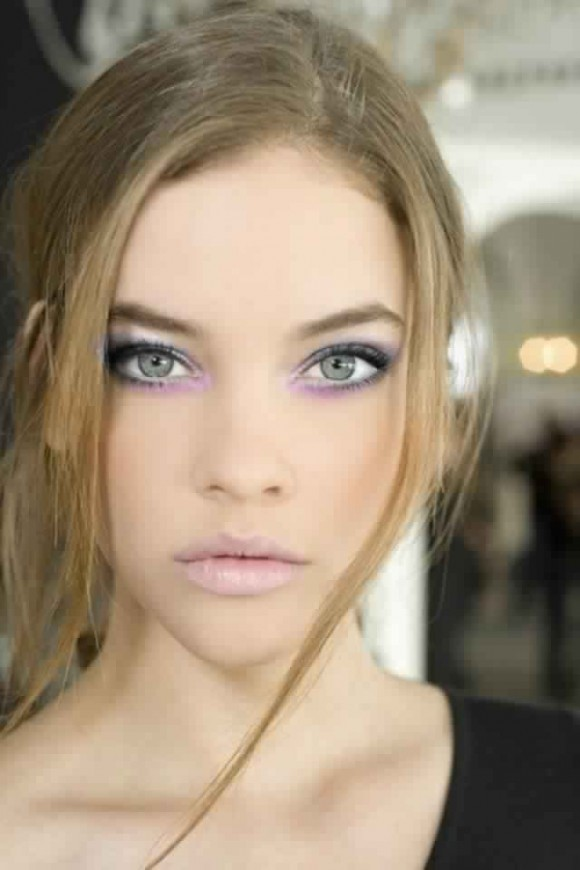 maquillage-yeux-levres-rose