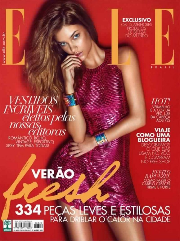 barbara-palvin-elle-brazil-january-2015-cover