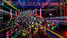 Electric Run : la course nocturne débarque à Paris !