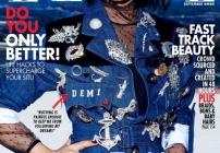 Demi Lovato serves rocker chic vibes for ELLE CANADA