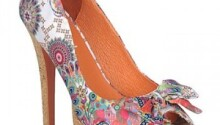 Collection chaussures Desigual printemps été 2012