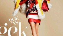 Tosca Dekker wears colorful fall fashion for Marie Claire Netherlands